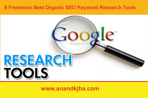 9 Freemium Best Organic SEO Keyword Research Tools