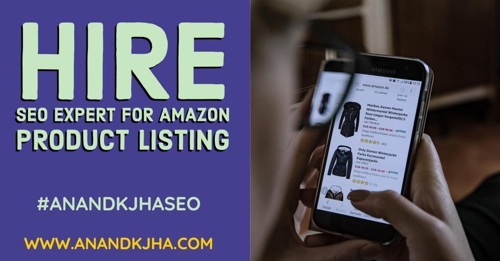 Amazon store optimization expert in India