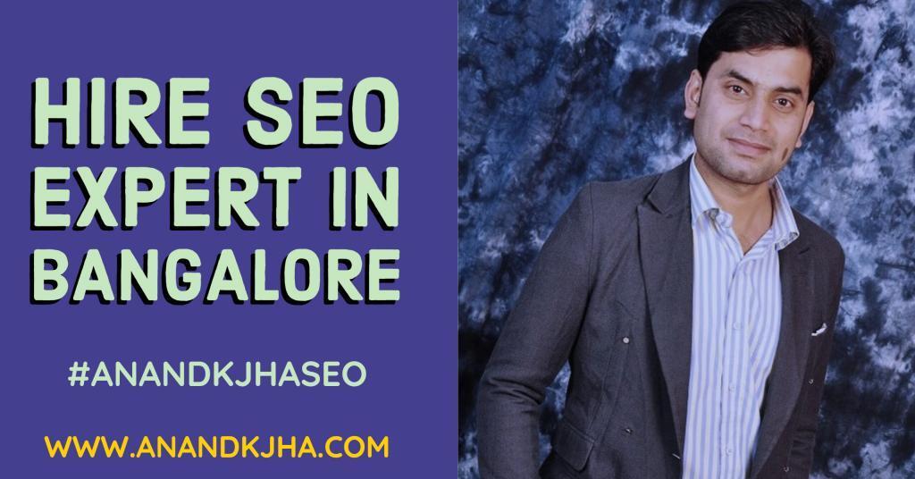 Hire SEO Expert Freelancer in Bangalore